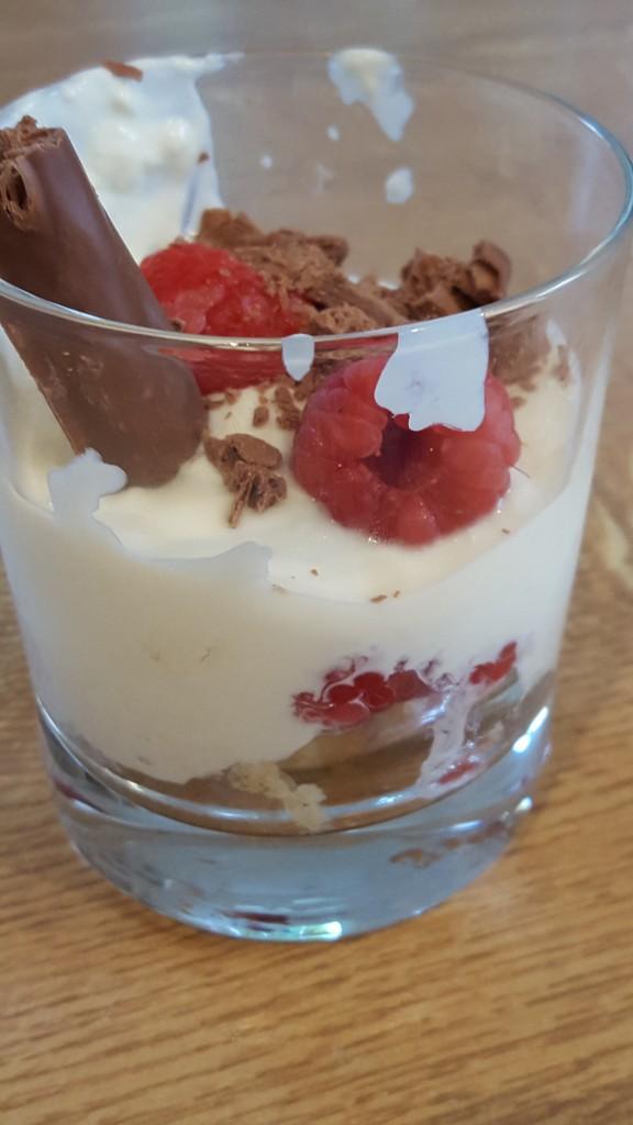 Raspberry Coconut Tumbler Dessert
